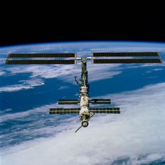 The International Space Station, thirteen years ago [4078x4100]