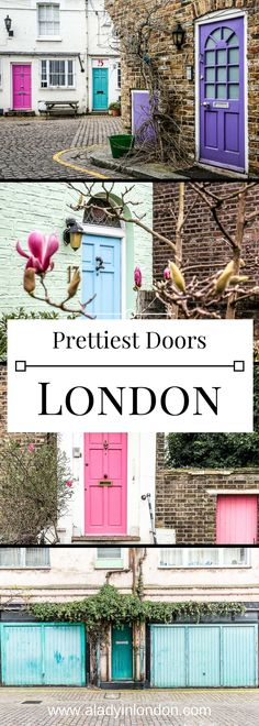 The prettiest doors in London, and where to find them.