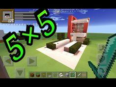 Como hacer una casa moderna 5x5 fácil - http://cryptblizz.com/como-se-hace/como-hacer-una-casa-moderna-5x5-facil/