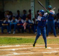 Dayan González. V Serie Provincial de Béisbol, San Antonio de los Baños, Artemisa, Cuba.