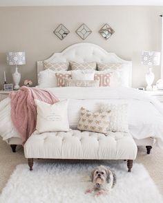 Romantic Master Bedroom Design Ideas 1078