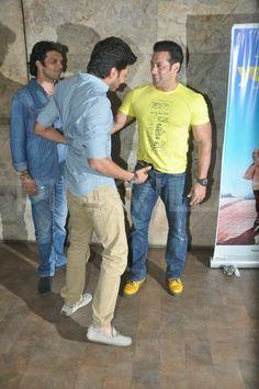 Salman Khan at the screening of Yellow | PINKVILLA