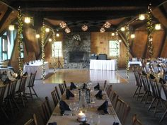 Sleigh Room Wedding Receptions at Pats Peak Banquet Center
