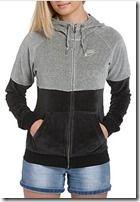 Nike Lavish Black and Grey Hoody