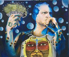 Pintura Calle 13