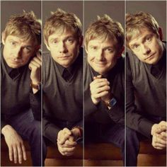 Dammit, Martin you gorgeous thing! I can't handle his perfect combination of adorable and sexy.