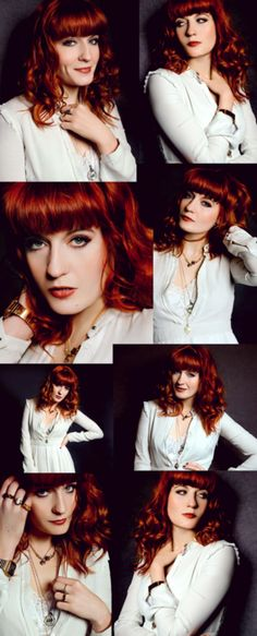 Florence + the Machine.her style, her voice and the fact that I secretly want to be a red head...she rocks my world!
