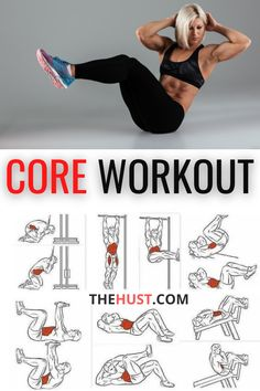 Strength building core workout challenge