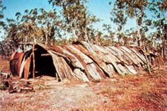 Indigenous Shelter (two) - Aborginal Environments Research Centre site at The University of Queensland