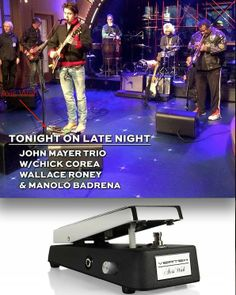 John Mayer with the Vertex Axis Wah