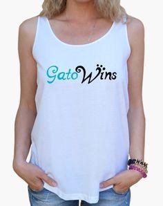 Camiseta GatoWins