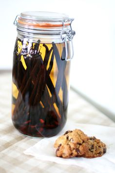 Homebrew vanilla extract. Must do this! Great gifts, even for my Baptist friends! Now, who can I get to buy the vodka...