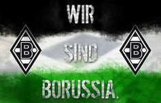 Borussia M'gladbach Zimmerfahne 90 x 140 cm