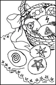 spring equinox coloring pages | Poem for the English Spring Equinox, by Natalie Gray ...