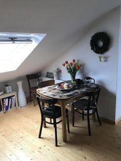 Wohnzimmer Mit Esstisch Aus Holz   #Inspiration Fürs Eigene Zuhause.  #Holztisch #diningroom