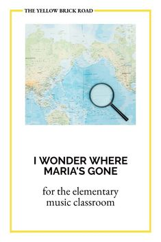 I Wonder Where Maria's Gone is an easy folk dance for the elementary music classroom, with free digital visuals for students to follow along. Music Teachers, Music Classroom, Music Education, Elementary Music Lessons, Yellow Brick Road, Folk Dance, Music Mix, Literacy, Students