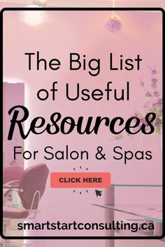 Check out all of these handy resources. Perfect for salons, spa and anyone in the beauty industry. #salonbusiness #nailsbusiness #lashbusiness #spabusiness #servicebusiness #massagebusiness #estheticsbusiness #hairbusiness #browbusiness