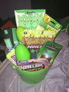 Minecraft Easter Basket for Boys