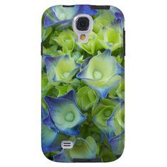 Blue Hydrangea Buds Galaxy S4 Case #flowers #nature