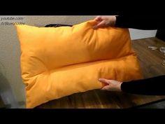 Как пошить ортопедическую подушку - YouTube