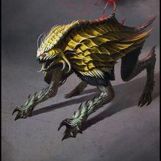 Creature Design for RPG Creatures - Bestiary I