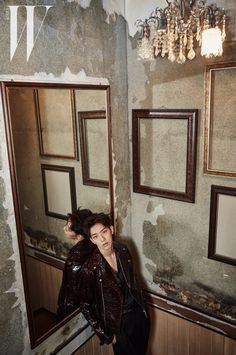 Korean Magazine Lovers (C.N Blue Jung Shin - W Magazine October Issue '15)