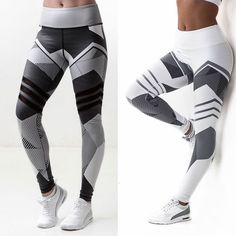 Womens Yoga Workout Pants Skinny Gym Running Fitness Leggings Athletic Clothes A