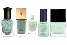 Mint nail colors for spring