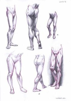 Рисуем ноги
