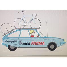 Bianchi Faema. Team1978. #bianchi #bianchifaema #faema #coffee #cafe #campagnolo #campy #citroen