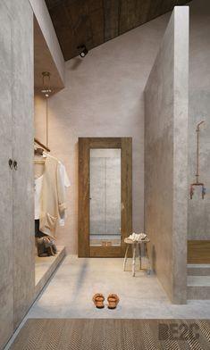 Wardrobe Design, Family Bathroom, Wabi Sabi, Homesteading, Architecture Design, Bedroom Decor, Interior Design, Tulum, House Styles