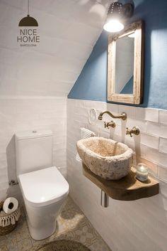 Quirky Home Decor Mediterranean Style Bathroom in Blue and White.Quirky Home Decor Mediterranean Style Bathroom in Blue and White Home Decor Bedroom, Cheap Wall Decor, Bathroom Styling, Home Decor Kitchen, Cheap Decor, Home Decor Paintings, Rustic Remodel, Target Home Decor, Interior Design Colleges