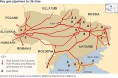 Wow: This map shows oil interests in eastern Ukraine. Look at those pipelines...  http://www.bbc.com/news/business-26418664