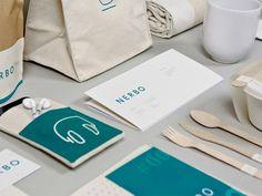 Аугусто Ардуини совместно с Джудиттой Брузаделли Аугусто разработал фирменный стиль для сети студенческих кофеен «Nerbo».