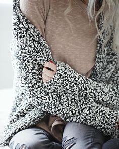 winter cardigan.