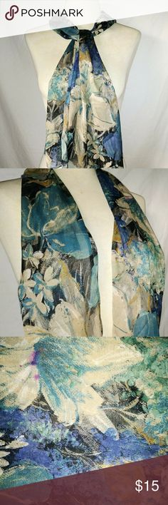 #hundredsofscarves: SILKY Floral Scarf Teal Blue & Tan Brown Sheer Lightweight Smooth Silky Polyester Floral Design Scarf. No tags. In excellent used condition. From a smoke free home. Make an offer! BUNDLE & Automatically Get 20% Off on 2+ Items. Bundle one or more items and I'll make you a private offer up to 40% off - the bigger the bundle the bigger the savings! *Hundreds of Scarves @gratefulbox = POSH AMBASSADOR at yr service!* Vintage Accessories Scarves & Wraps