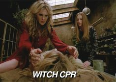 American Horror Story: Coven                                      ~ Misty Day with Zoe Benson and a very deceased Madison Montgomery