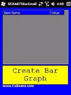 GCHARTSBarEmailer©  This program creates a bar graph from numbers you enter and sends the image via email template.   http://www.cebeans.com/gchartsbaremailerp.htm