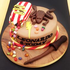 #HarryPotter Cake - For all your decorating supplies, please visit craftcompany.co.uk