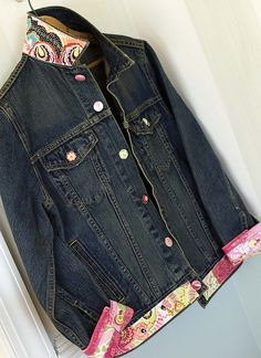 Embellished Jean Jackets | Embellished jean jacket | Flickr - Photo Sharing!