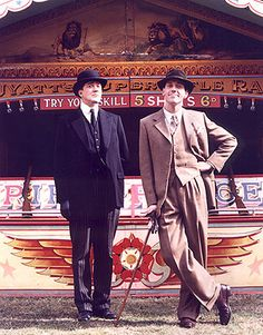 Jeeves and Wooster! Stephen Fry and Hugh Laurie in their element... If you haven't seen the best adaptation Wodehouse could've asked for... do it.