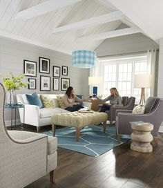 A Place To Spend Quality Time With Best Friends, This Space Features The  Following Huntington House Products: 7265 20 Sofa, 2200 50 Laguna Chair, ...