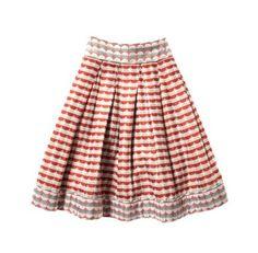 Z Spoke- Zac Posen -Jacquard skirt :