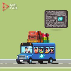 Plan for a delightful journey. Start earning on AdsJack and book your bus tickets using your MobiKwik wallet.