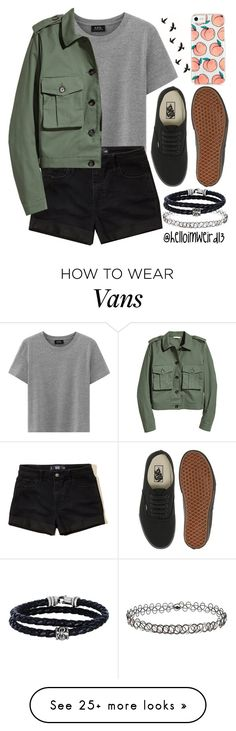 """""""with no more tears, no more pain, and no more fears"""" by helloimweird13 on Polyvore featuring Hollister Co., Vans, Miss Selfridge and Phillip Gavriel"""