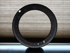 The Only Clock was designed by Vadim Kibardin as a modern 3D interpretation of a traditional analog wall clock.