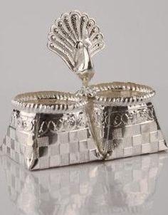 Silver pooja kumkum
