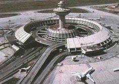 Brutalist, Yerevan Zvartnots airport
