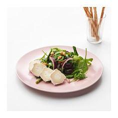DINERA Plate, light pink - IKEA
