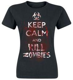 T-shirt Femme par Kill Zombies